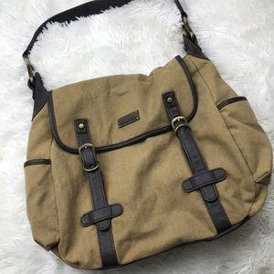 """Matt & Nat Canvas messenger bag - fits 14"""" laptop"""